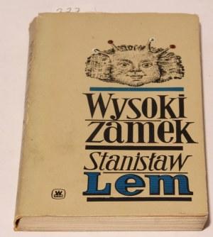 Stanisław Lem Wysoki zamek wyd. I