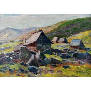 Michał STAŃKO (1901-1969), Górskie chaty