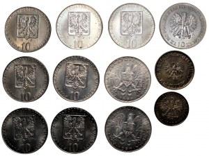 PRL - Zestaw 12 sztuk monet