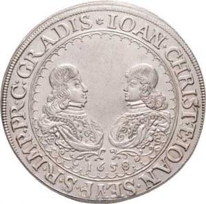 Eggenbergové, Jan Kryštof a Jan Seyfried, 1649 - 1664, Tolar 1658, Český Krumlov-Scheiblhoffe