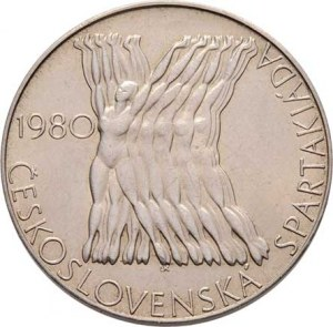 Československo 1961 - 1990, 100 Koruna 1980 - Československá spartakiáda, KM.101