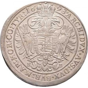 Leopold I., 1657 - 1705, Tolar 1698 KB, Nech.1090, Husz.1374, 28.578g,