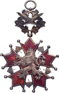 Československo, Řád Bílého lva - civilní skupina - 1.třída, VM.9-b-A,