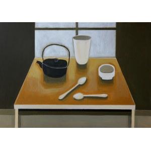 Iwona Birenbaum-Sacharz, Tea time, 2020