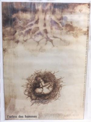 L'arbe des hommes - Drzewo ludzi, Plakat teatralny