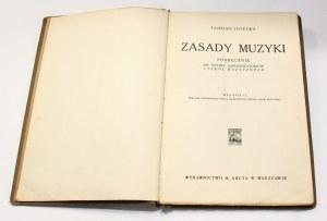 Tadeusz Joteyko, Zasady muzyki