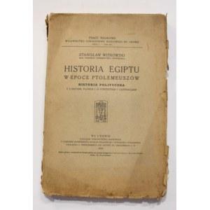 Stanisław Witkowski, Historia Egiptu w epoce Ptolemeuszów