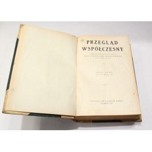 Stanisław Wędkiewicz, Przegląd współczesny styczeń – marzec 1933