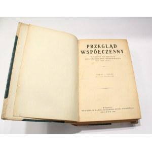 Stanisław Wędkiewicz, Przegląd współczesny styczeń – marzec 1925