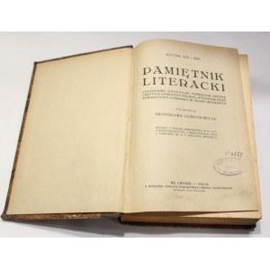 Bronisław Gubrynowicz, Pamiętnik literacki rocznik 1925/26