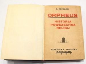 Salomon Reinach, Orpheus historia powszechna religij
