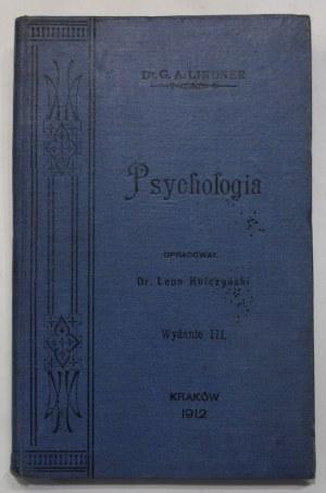 Gustaw Lindner, Wykład psychologii empirycznej