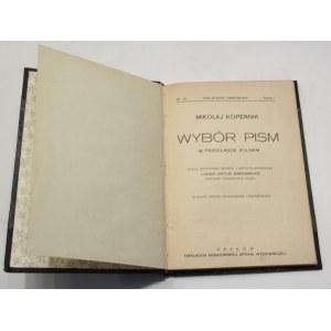 Mikołaj Kopernik, Wybór pism - o obrotach ciał niebieskich i in. [Biblioteka Narodowa]