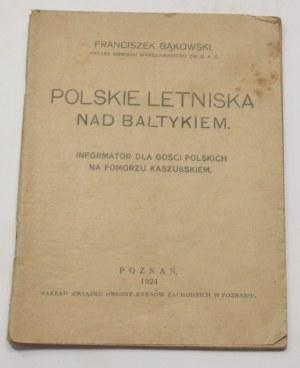 Franciszek Bąkowski, Polskie letniska nad Bałtykiem