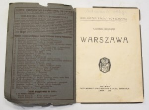 Kazimierz Konarski, Warszawa z cyklu Miasta Polskie