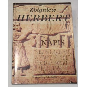 Zbigniew Herbert, Napis