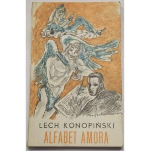 Lech Konopiński, Alfabet amora [Berezowska]