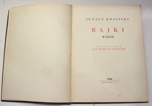 Ignacy Krasicki, Bajki [Szancer]