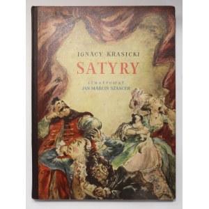 Ignacy Krasicki, Satyry [Szancer]