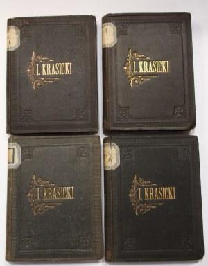 Ignacy Krasicki, Dzieła 4 woluminy [Schramm]