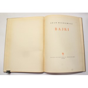 Adam Mickiewicz, Bajki