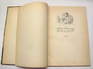 Adam Mickiewicz, Ballady [Szancer I wydanie]