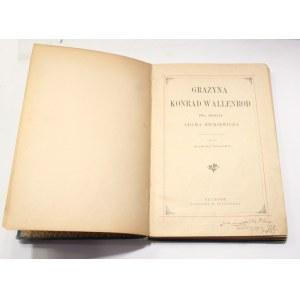 Adam Mickiewicz, Grażyna Konrad Wallenrod [Kossak]