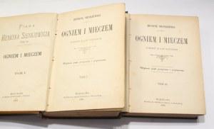 Henryk Sienkiewicz, Ogniem i mieczem 1-4 t.