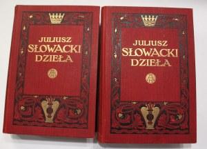 Juliusz Słowacki, Dzieła 1-2 t.