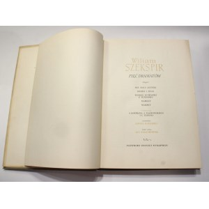 Wiliam Szekspir, Pięć dramatów