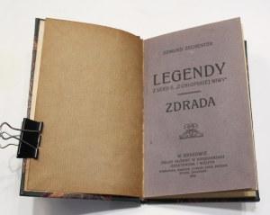 Edmund Zechenter, Legendy - zdrada [ded. dla Feliksa Kopery od autora]