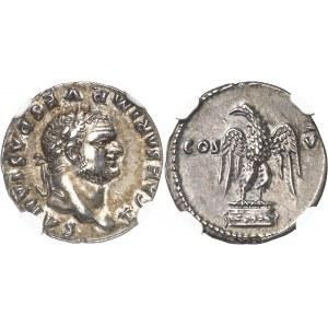 Titus César (69-79). Denier 76, Rome.