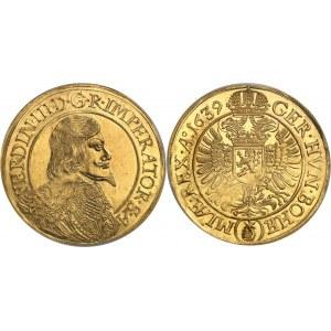 Bohème, Ferdinand III (1637-1657). 10 ducats 1639, Prague.