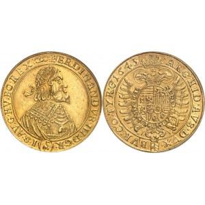 Ferdinand III (1637-1657). 10 ducats 1645, Vienne.