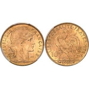 IIIe République (1870-1940). 10 francs Marianne 1910, Paris.