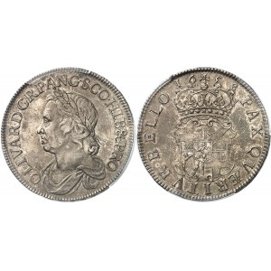 Oliver Cromwell (1653-1658). Crown 1658/7, Londres.