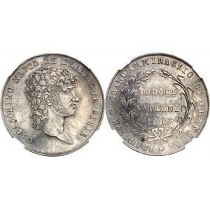 Naples, Joachim Murat (1808-1815). Essai de 12 carlini 1810, Naples.