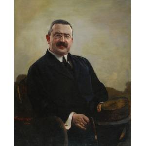 Henryk RAUCHINGER (1858-1942), Portret mężczyzny