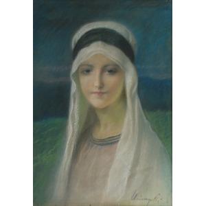 Józef UNIERZYSKI (1863-1948), Madonna