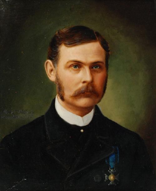 Malarz nieokreślony (XIX w.), Portret Michała Nasływskiego