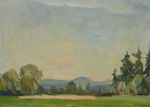 Jan WOJNARSKI (1879-1937), Biały Dunajec, 1929