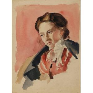 Tadeusz SZEWCZYK-BARWECKI (1912-1999), Portret kobiety