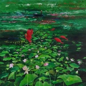Patrycja Kruszyńska-Mikulska, Lotosowy raj, 2020