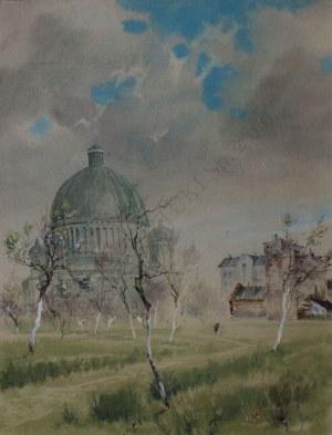 Jerzy René Groszang (1929-2004) Kościół św. Teresy w Łodzi