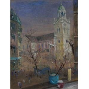 Jerzy René Groszang (1929-2004) Kościół Podwyższenia Świętego Krzyża w Łodzi