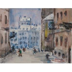 Jerzy Maniewski (1909-1988) Stare Miasto w Warszawie