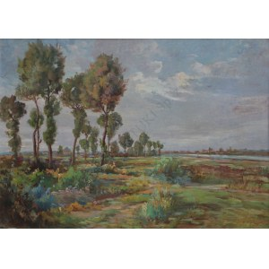 Jerzy Potrzebowski (1921-1974) Pejzaż