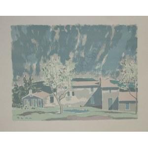 Bencion Rabinowicz [Benn] (1905-1989) Pejzaż