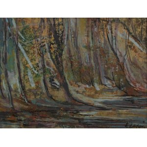 Emil Ukleja (1902-1975) Drzewa nad wodą