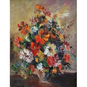 Józef Wasiołek (1921-2008) Kwiaty w wazonie